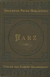 Griebens Reise-Bibliothek Harz Band 2 1892