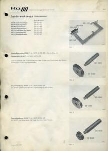 NSU RO 80 Wankel Sonderwerkzeuge 8.1970