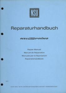 NSU Sport Prinz Reparaturanleitung 9.1971