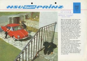 NSU Sport Prinz Prospekt 1962