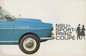 NSU Sport Prinz Coupe Prospekt 11.1964