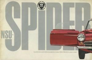 NSU Spider Wankel Prospekt 1964