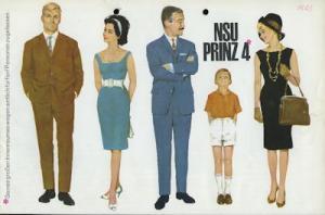 NSU Prinz 4 Prospekt 11.1962