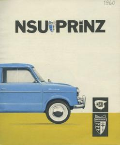 NSU Sport Prinz Prospekt 1960 e