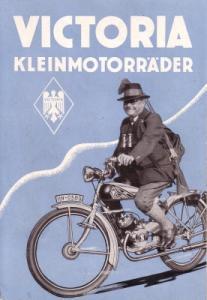 Victoria Kleinmotorräder Prospekt 4.1935