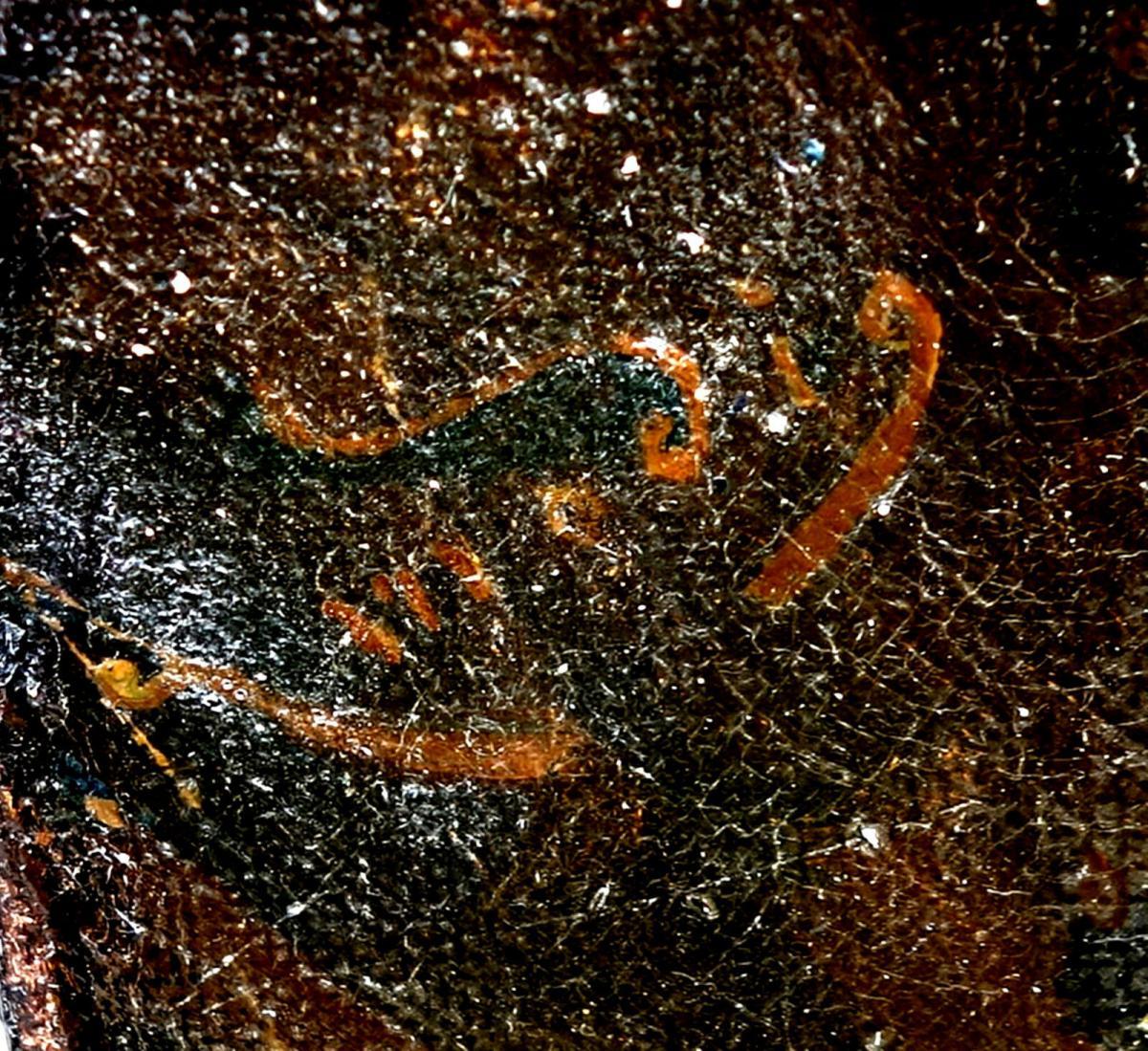 Ölbild,Portrait,italienischer Fischer,Prunkrahmen,19.Jhdt. 10