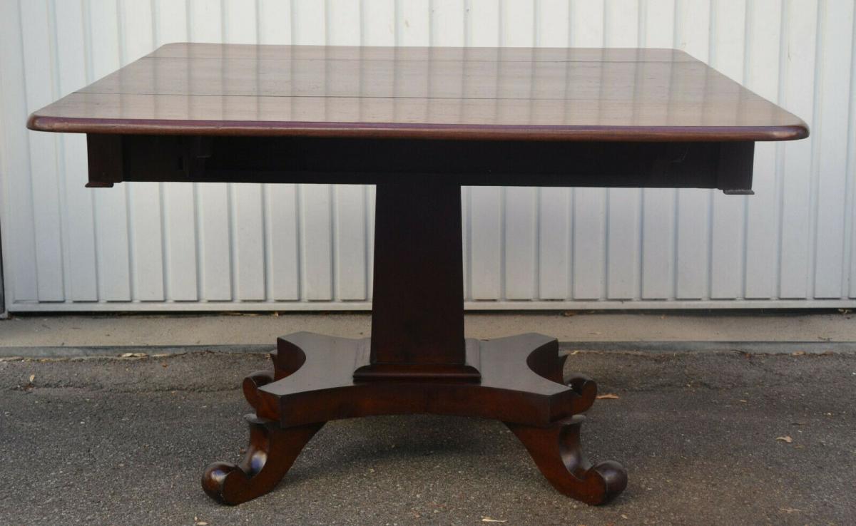 Mobiliar,Tisch,Georgian Drop Leaf Table,Mahagoni,um 1800, 0