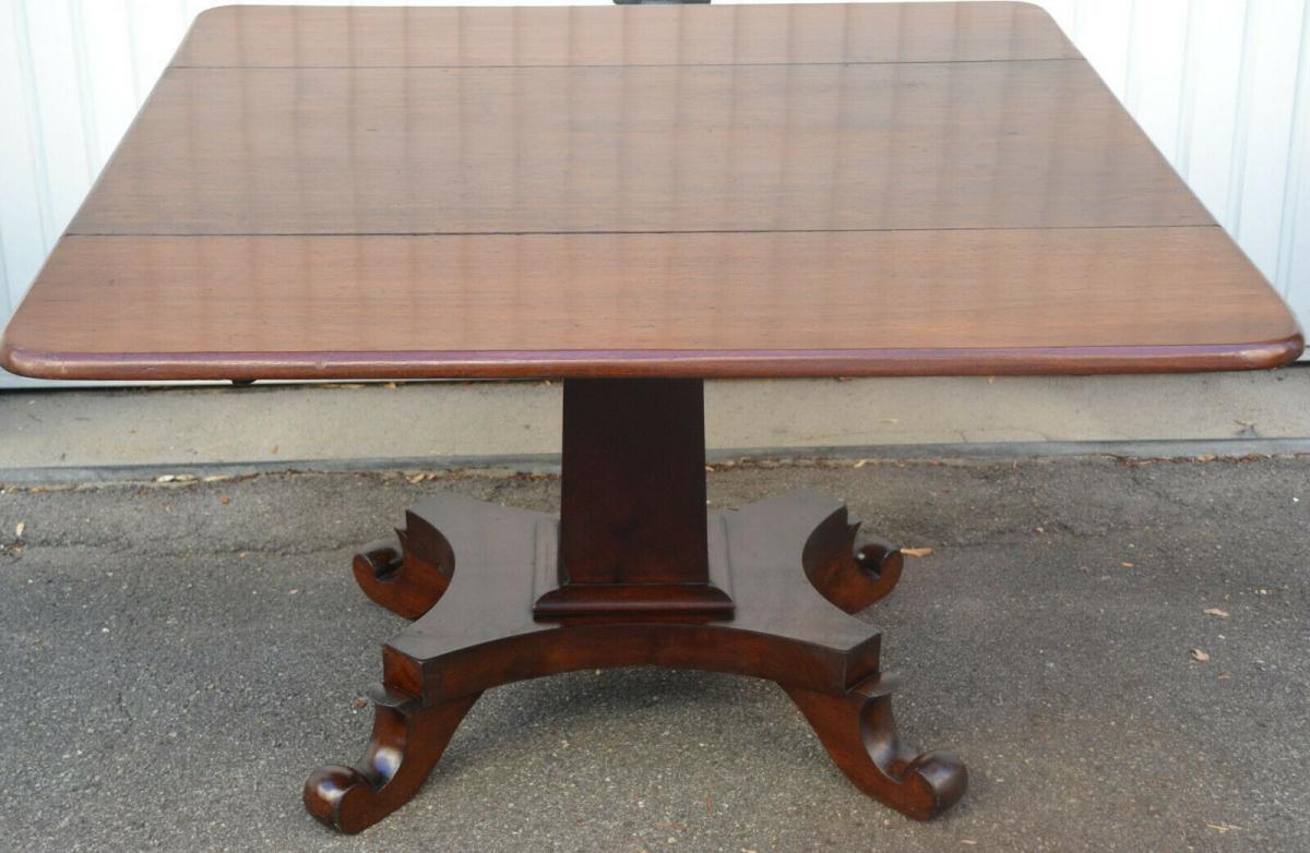 Mobiliar,Tisch,Georgian Drop Leaf Table,Mahagoni,um 1800, 1