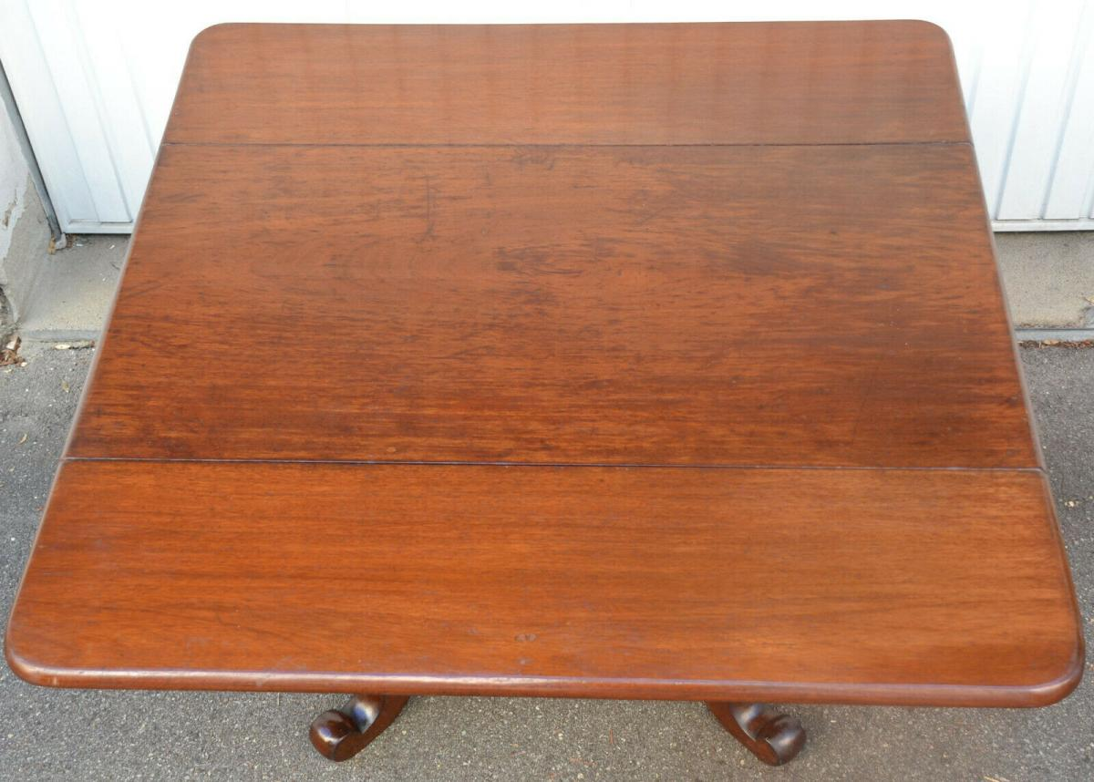 Mobiliar,Tisch,Georgian Drop Leaf Table,Mahagoni,um 1800, 9