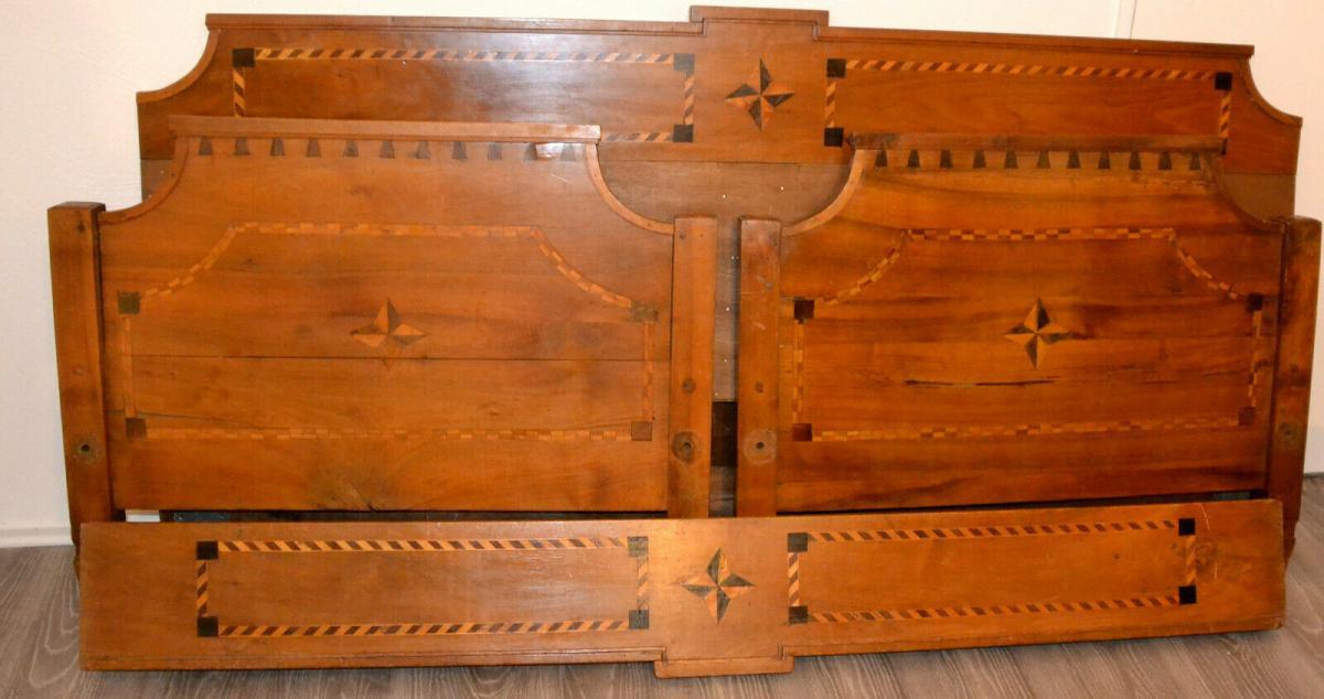 Möbel,Empirebett,Obstholz,Nuß-Kirsche-etc für Restaurator 0