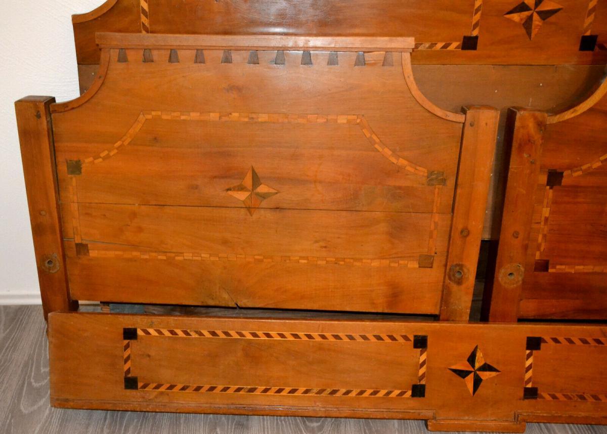 Möbel,Empirebett,Obstholz,Nuß-Kirsche-etc für Restaurator 1