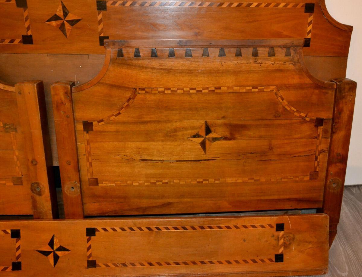 Möbel,Empirebett,Obstholz,Nuß-Kirsche-etc für Restaurator 2
