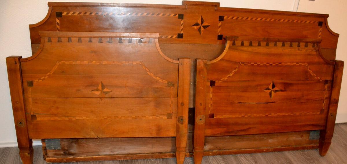 Möbel,Empirebett,Obstholz,Nuß-Kirsche-etc für Restaurator 3