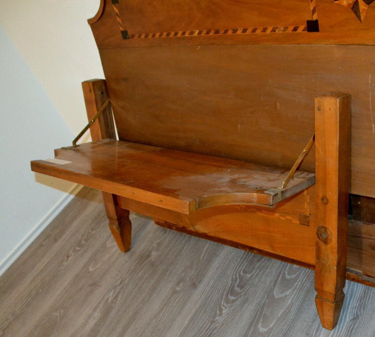 Möbel,Empirebett,Obstholz,Nuß-Kirsche-etc für Restaurator 4