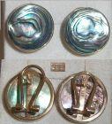 Ohrringe - Stecker mit Clip 333 Gold mit Powershell