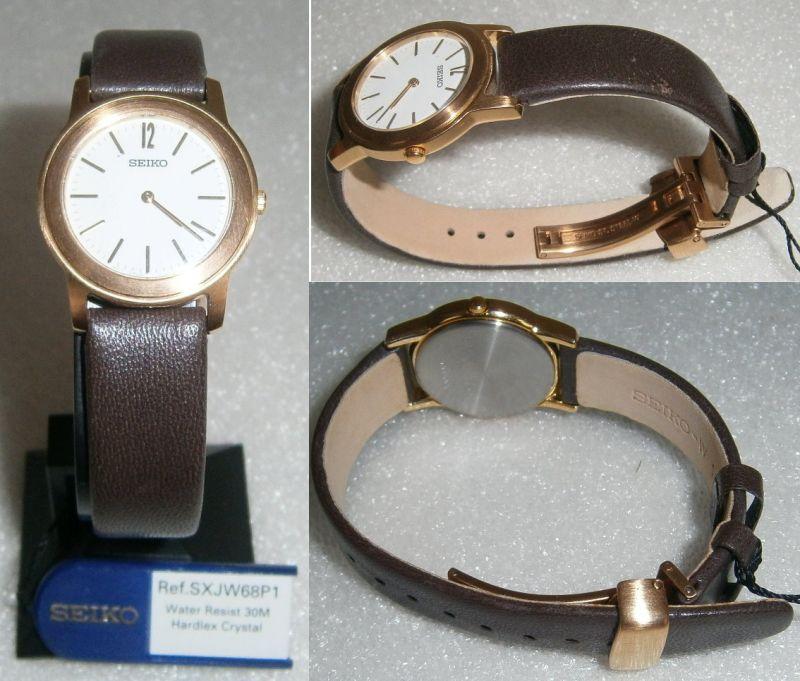 SEIKO-Armbanduhr neuwertig