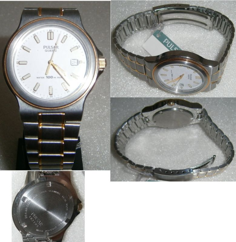 PULSAR-Armbanduhr neuwertig