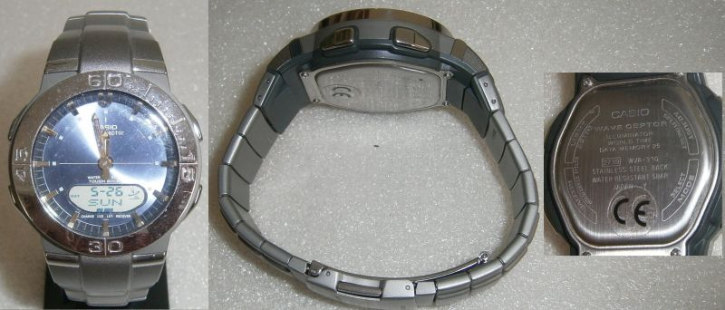 CASIO-Herren-Armbanduhr neuwertig