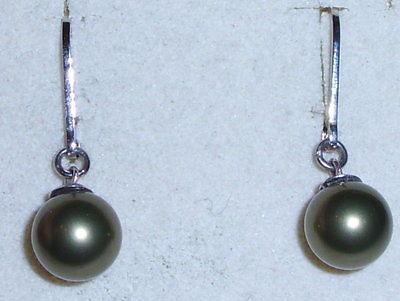 Ohrringe aus 925 Silber mit Perle