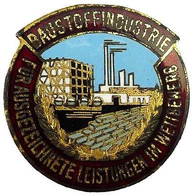 Medaille f. ausgezeichnete Leistungen im Wettbewerb Baustoffindustrie (AH127-03)