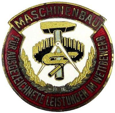 Medaille für ausgezeichnete Leistungen im Wettbewerb Maschinenbau (AH127-15)