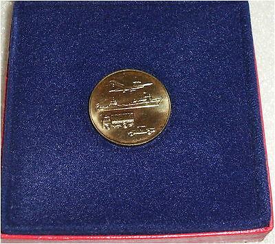 DDR Medaille 40 Jahre MINOL in OVP (da3177)