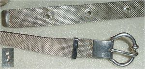 Gürtel aus massivem 925er Silber, signiert (da3266)