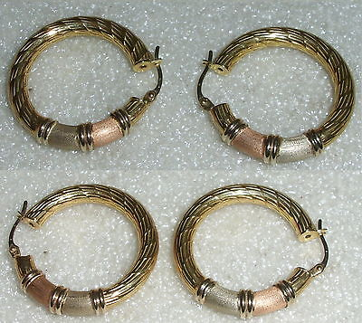 Ohrringe Creolen aus 750er Gold  (da3639)