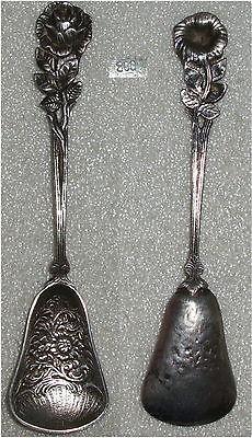 Hildesheimer Rose Zuckerschaufel aus 800er Silber    (da3625)