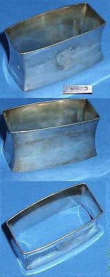 Serviettenring aus 800er Silber mit Monogramm GE (da4121)