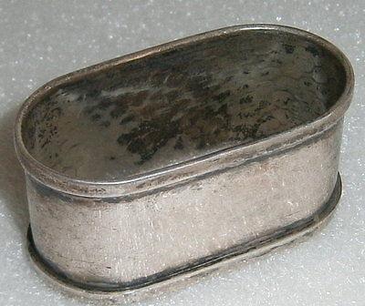 Toller original alter Serviettenring aus 800 Silber Hermann Bauer