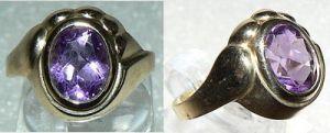 Ring aus 333er Gold mit Gemme neuwertig, Gr. 58 (da2510)