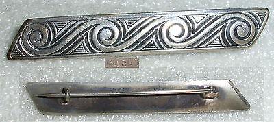 Wunderschöne alte Brosche aus 800er Silber um 1920  (da4134)