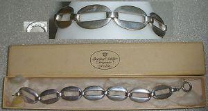 Silber-Armband 835er Silber 20iger Jahre in OVP Dresden Prager Str. 7  (da4132)