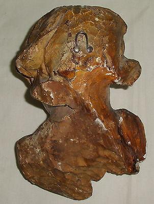 Barocker Puttenkopf aus Holz geschnitzt    (da4176) 3