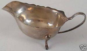 Englischer Sahnegießer 925 Silber Birmingham 1933 R & S
