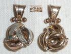 Anh�nger 333 Gold  Knoten