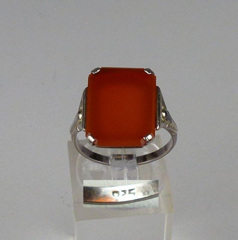 Ring aus 925 Silber mit Mondstein, Gr. 57/Ø 18,1 mm  (da4541)