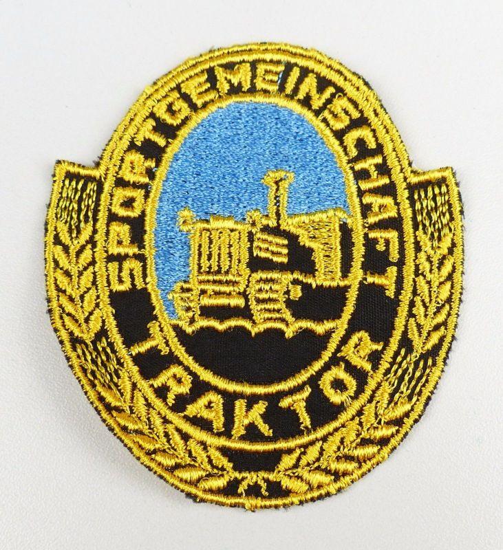 original /Ärmelabzeichen/Aufnäher Sportgemeinschaft Traktor        (da4618)