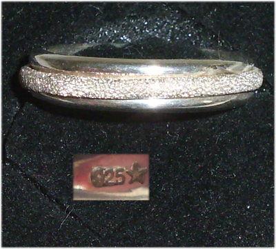 Ring aus 925er Silber mit Achat,  Gr. 53, Ø 16,9 mm  (da3695)