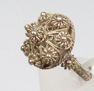 Silber-Ring, Gr. 58/Ø 18,5 mm  (da4448) 1