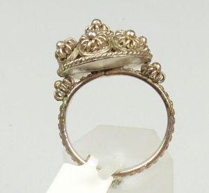 Silber-Ring, Gr. 58/Ø 18,5 mm  (da4448) 2