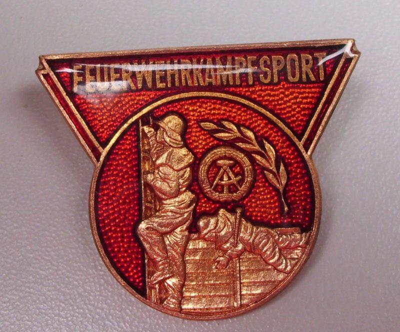 DDR Abzeichen Feuerwehr Kampfsport                       (da4494)