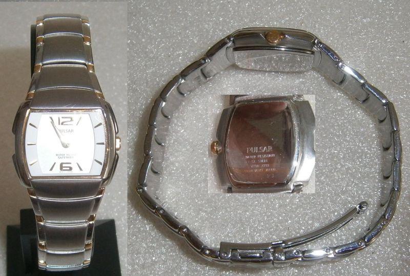 PULSAR-Armbanduhr neuwertig   (da4679)