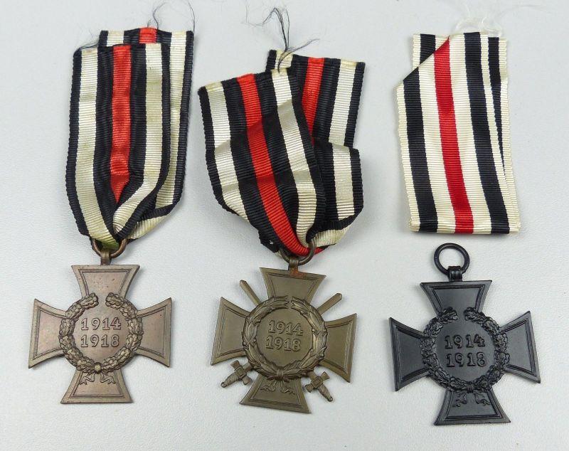 3 x Ehrenkreuz Frontkämpfer und für Witwen und Waisen (da4796)
