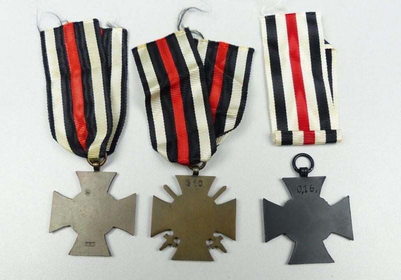 3 x Ehrenkreuz Frontkämpfer und für Witwen und Waisen (da4796) 1