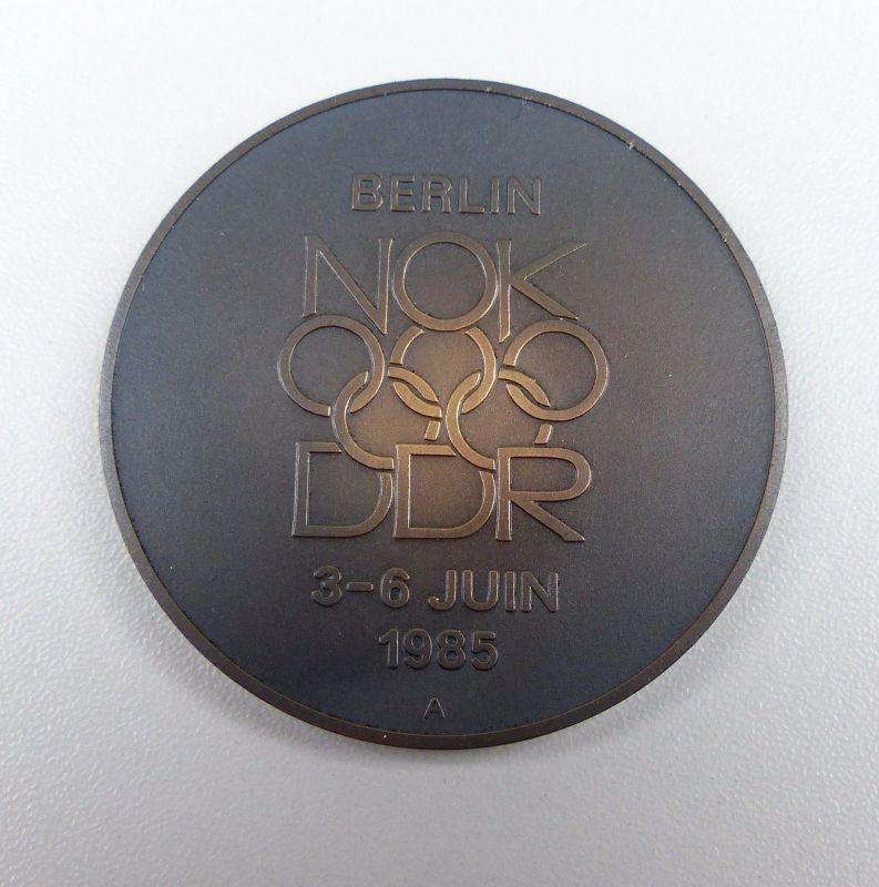 NOK Sitzung DDR in Berlin 3. - 6. Juni 1985 >>sehr selten<<             (da4890)