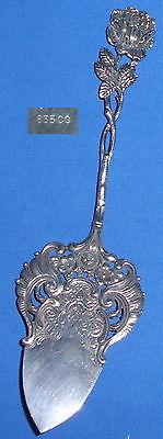 Tortenheber aus 835er Silber Hildesheimer Rose   (da3731)