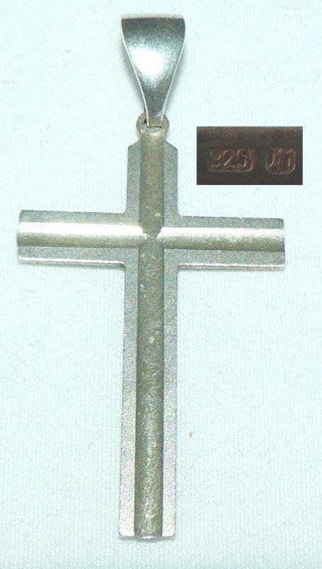Kreuz-Anhänger aus 925er Silber (da4322)