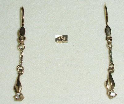 Ohrringe aus 333er Gold Zirkonia (da3320)